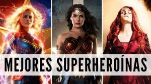 Superheroínas, las mujeres superhéroes más famosas de DC y Marvel